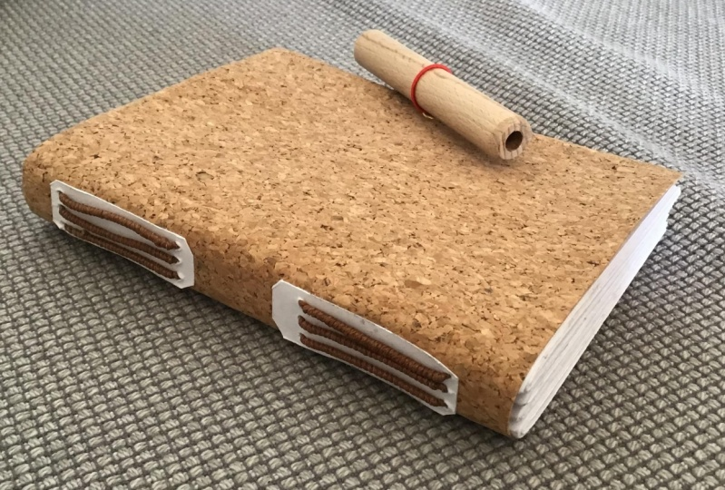 Cork paper cover