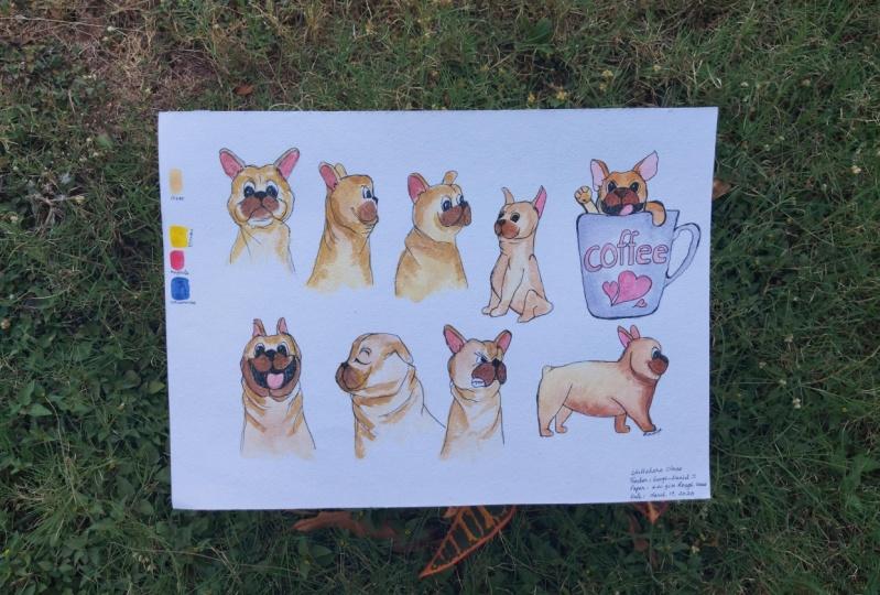 Had Fun Drawing Pugs :)