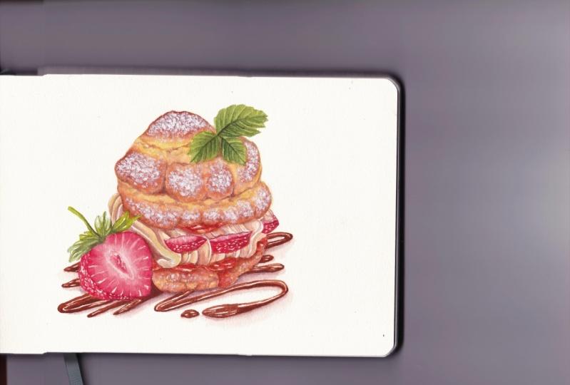 Strawberry dessert No. 2!