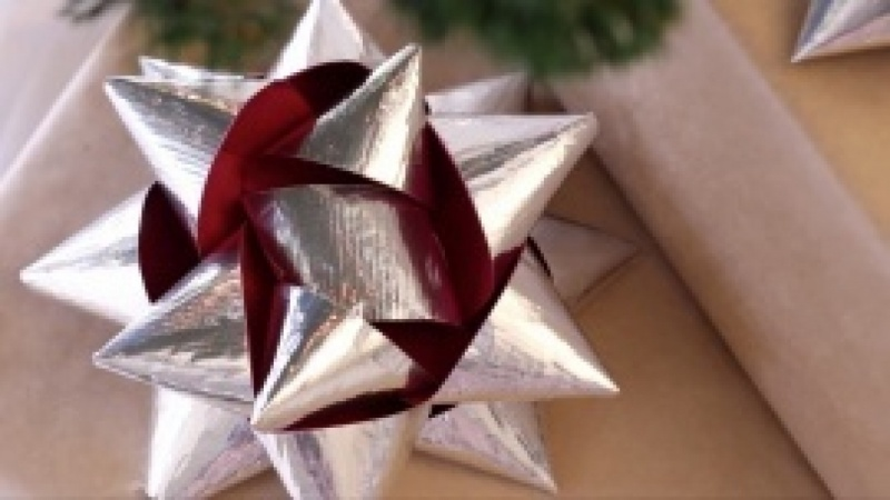 How to Make a Duct Tape Gift Bow