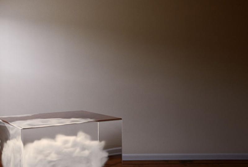 Cloud in a glass box