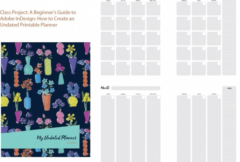 Undated Planner Sample Project