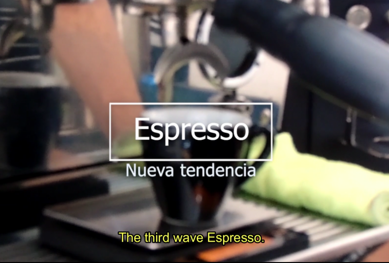 The third wave Espresso (after & before)
