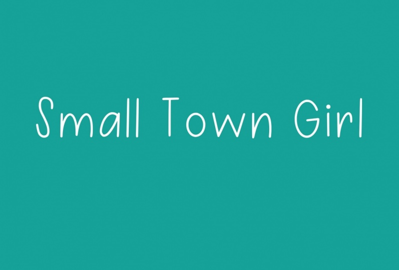 Small Town Girl Font