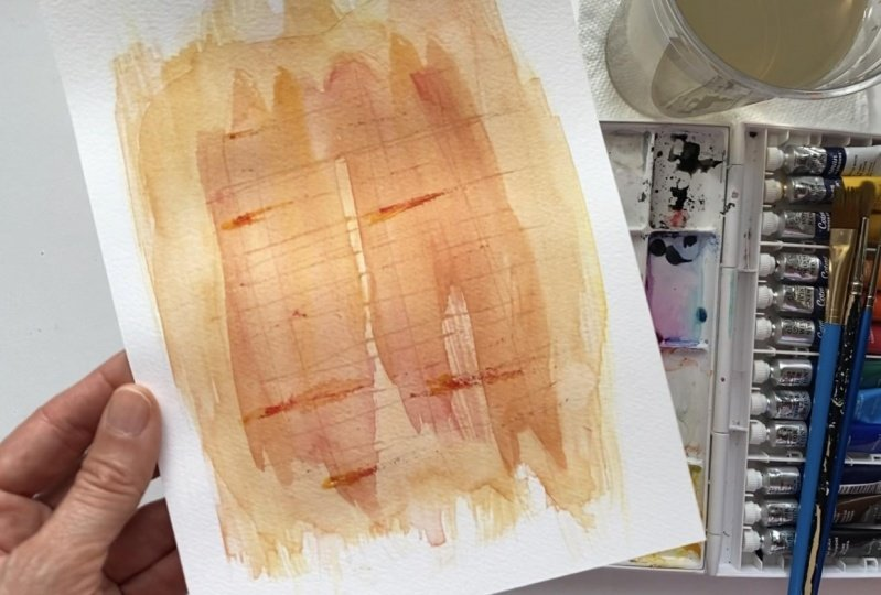 My Abstract Watercolor Painting