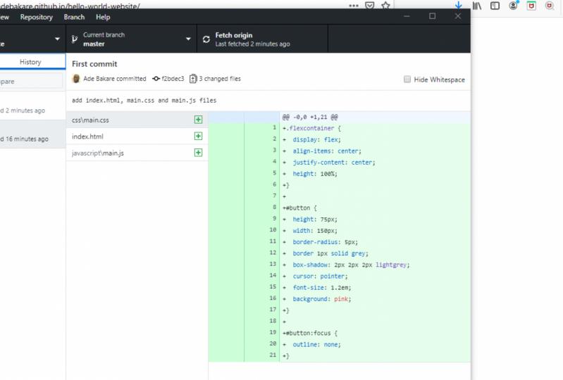 How to use GitHub and GitHub desktop