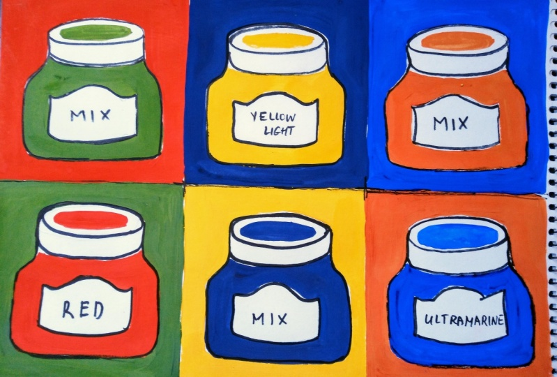 Pop Art Painting: Inspired by Warhol