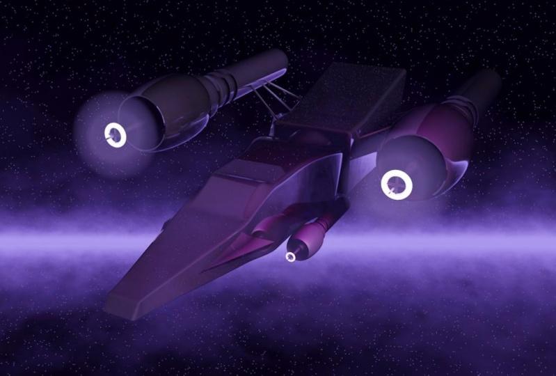 C4D - Spaceship