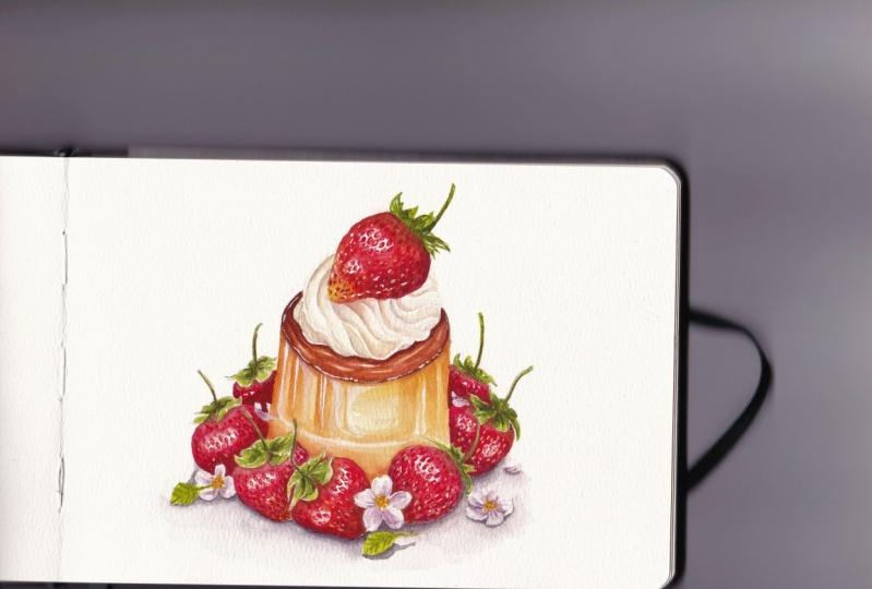3rd strawberry dessert