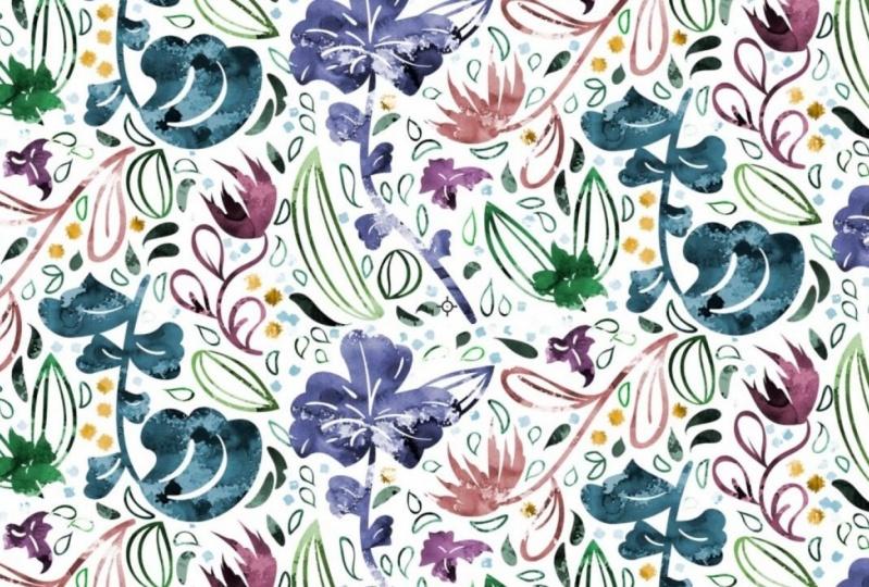 My summer meadow pattern