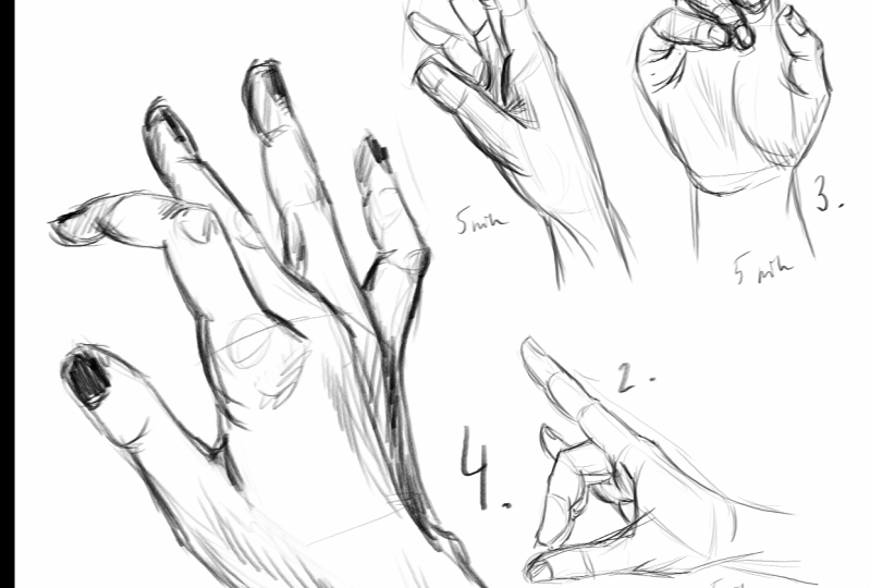 Some badass hands