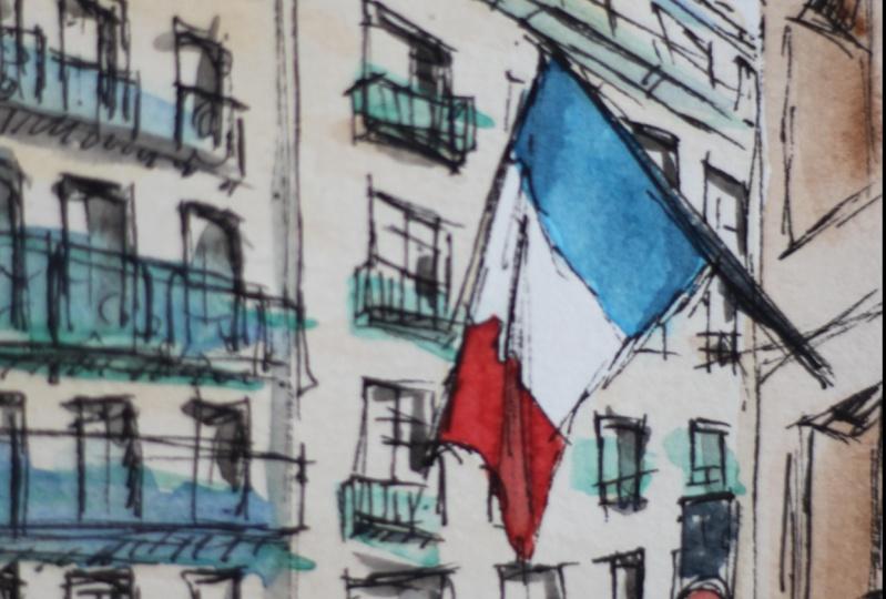 Various urban sketches