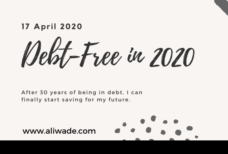 Debt-free in 2020