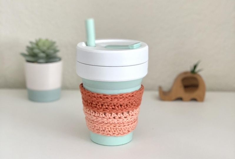 Crochet Coffe Cup Coozie