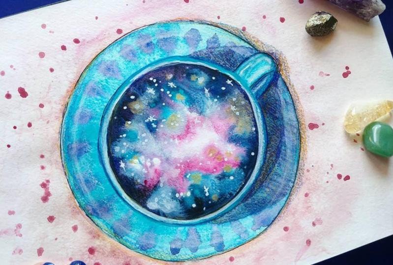 Galaxy coffee