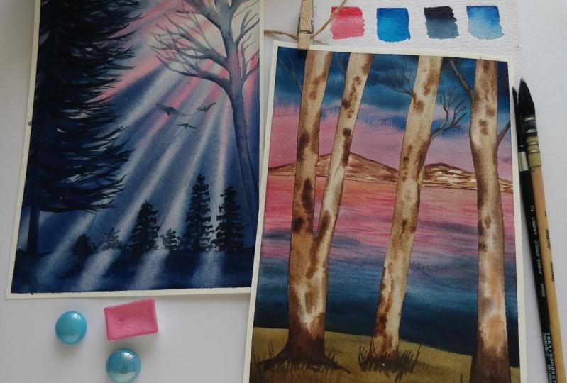 2 Dramatic Landscapes