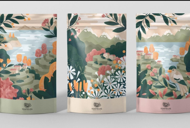 Azores Tea Packaging