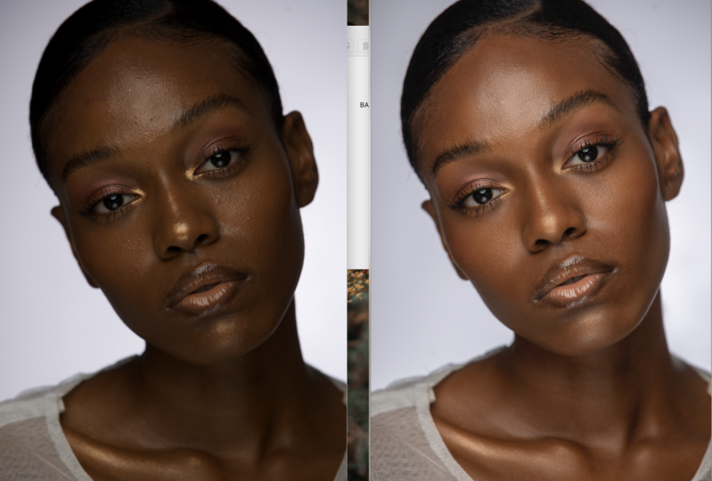 brie's project on HE skin retouching