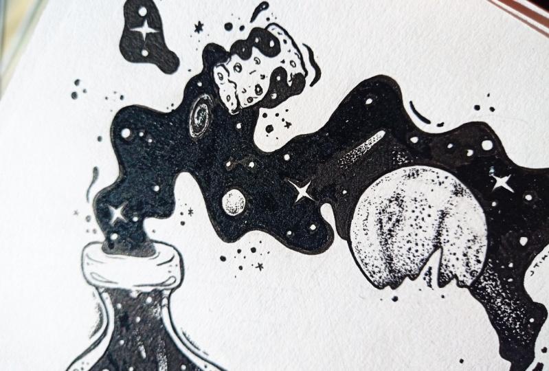Space in a Bottle