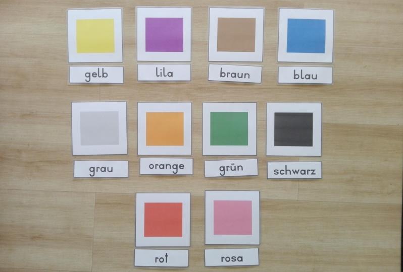 Leselern-Set Farben