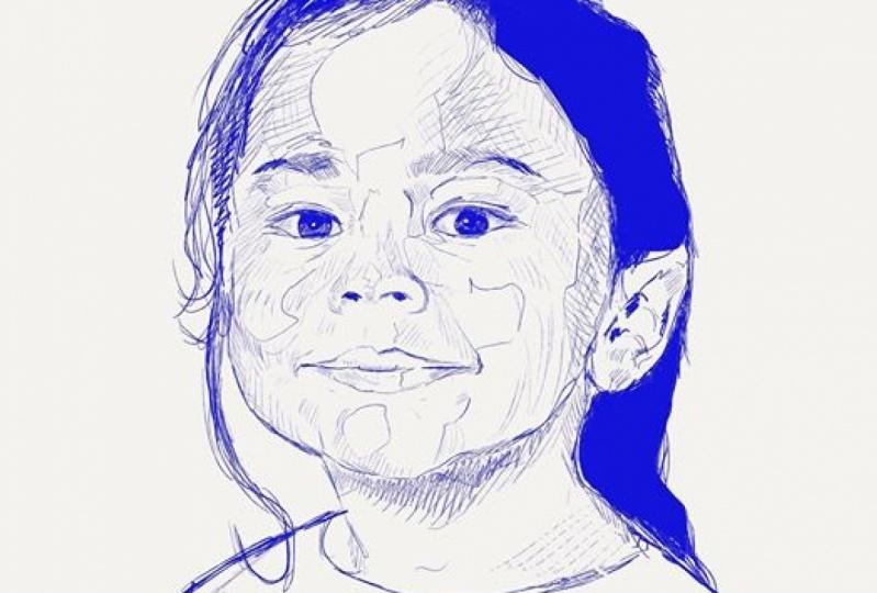 Procreate ink sketch
