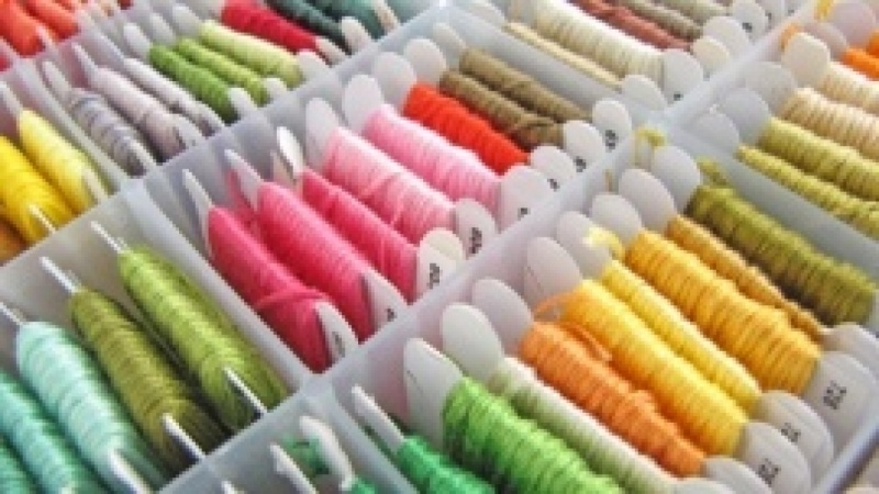 Thread List: Embroidery Floss/Thread Manager