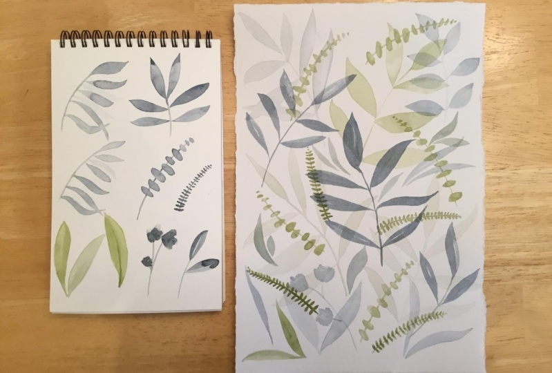 Leaves and layers