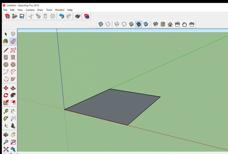 SketchUp Project 1 - Ground