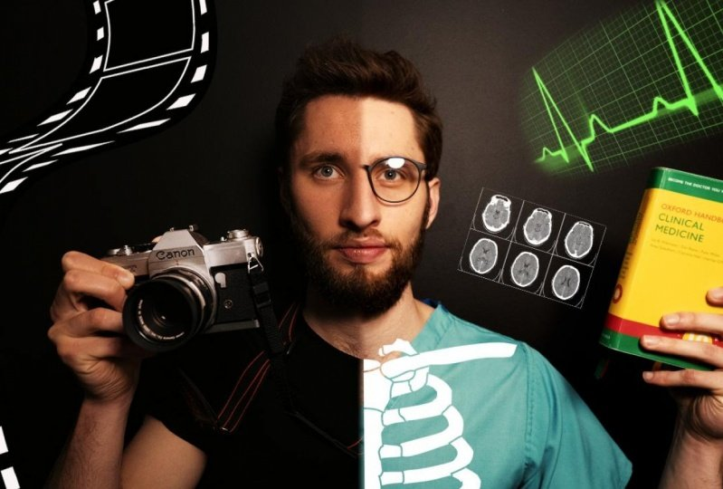 i built a filming business in medical school