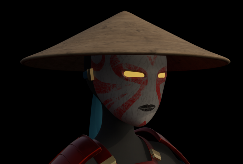 onna bugeisha model