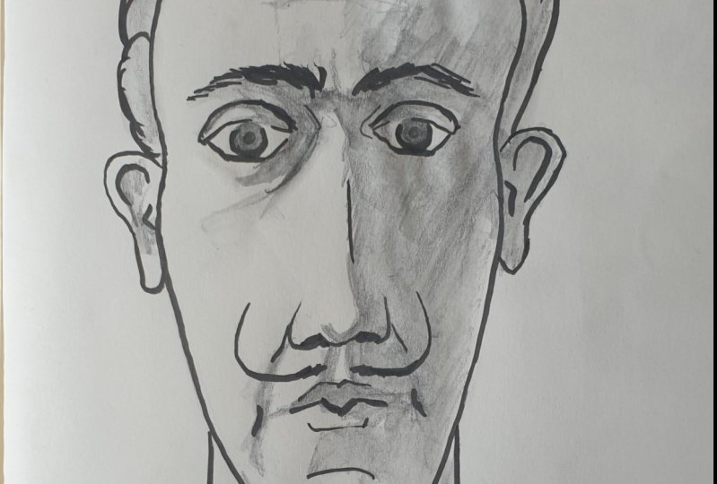 Dali caricature exercise