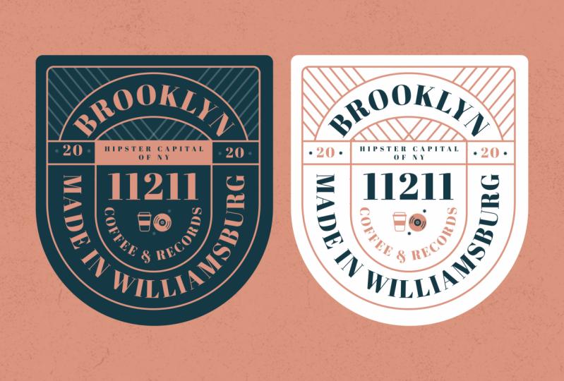 Badge design — Brooklyn edition