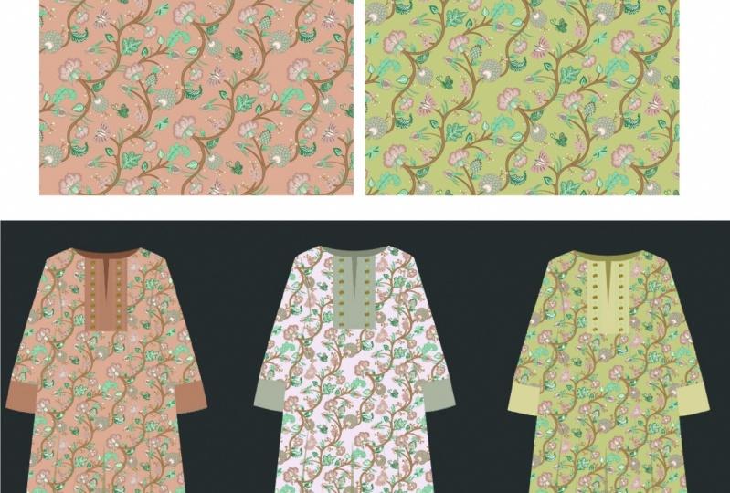 Chintz pattern