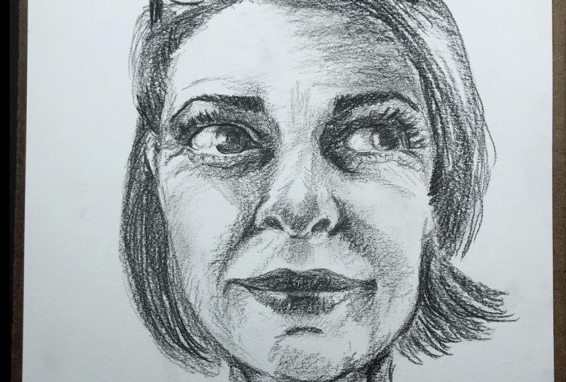 A Portrait in Graphite