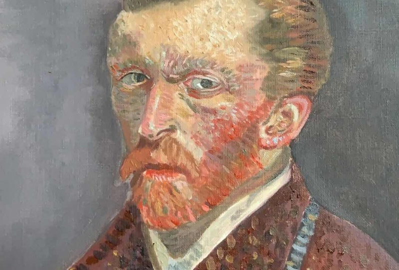 Van Gogh meets Zorn palette