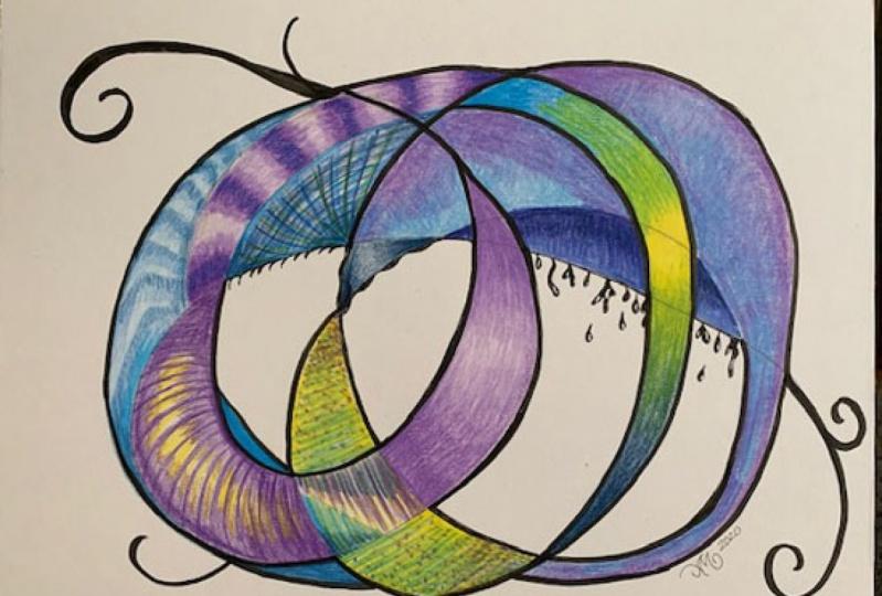 Colored Pencil Technique Practice