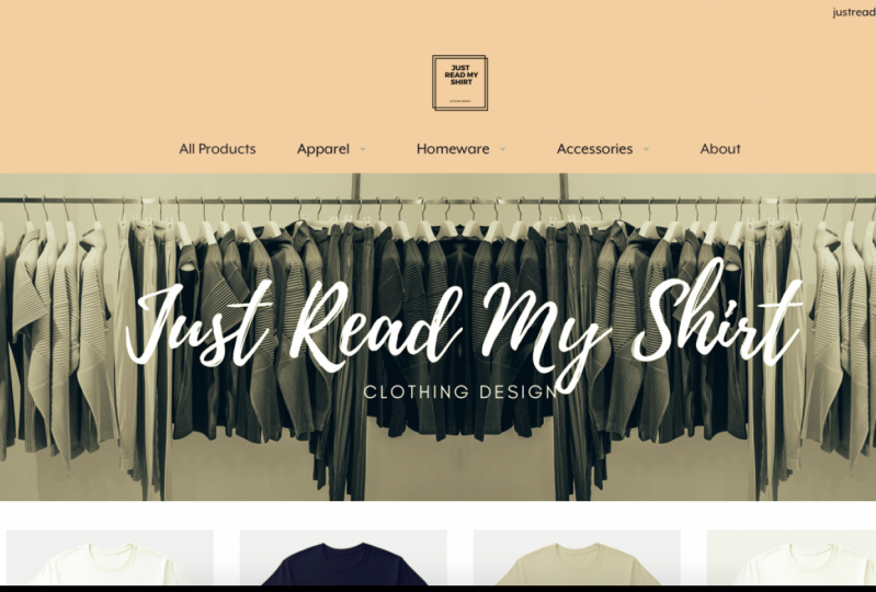Building My Online T-shirt Store