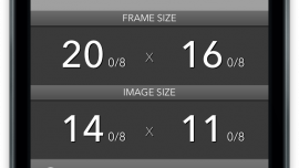 Mat Border Calculator for iPhone   Skillshare Projects
