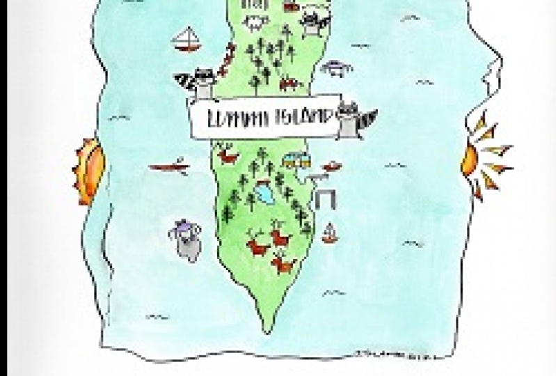 Lummi Island Map