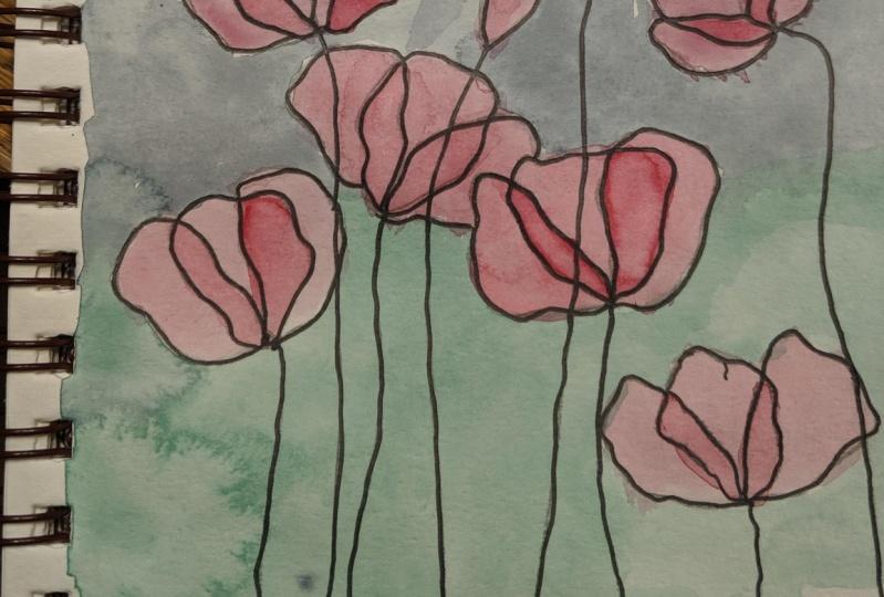 Poppies Take 1 & 2