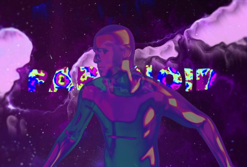 Iridescent Spaceman