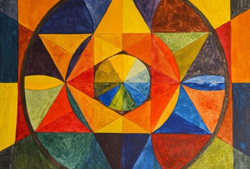 kaleidoscope mandala