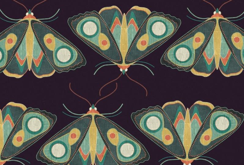 Pattern W.I.P + Moths