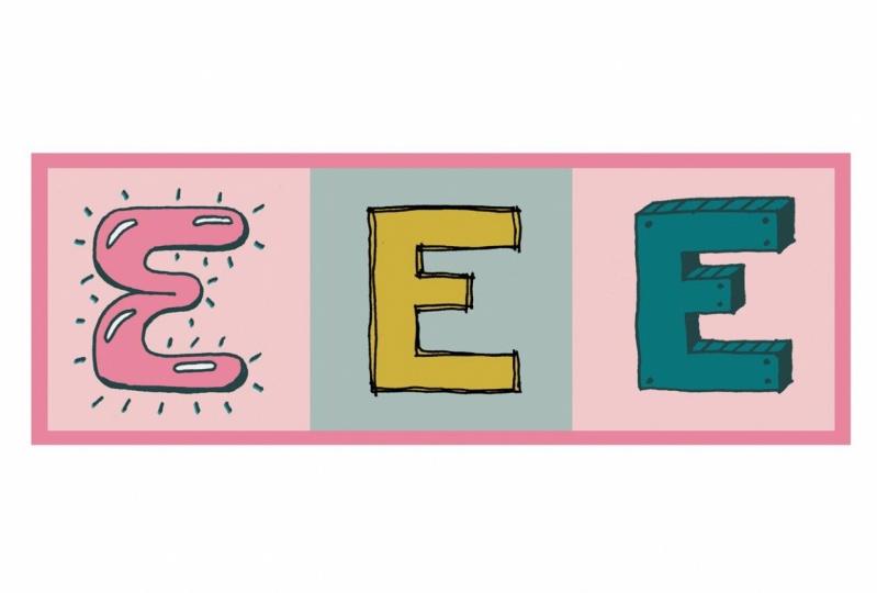 E for me