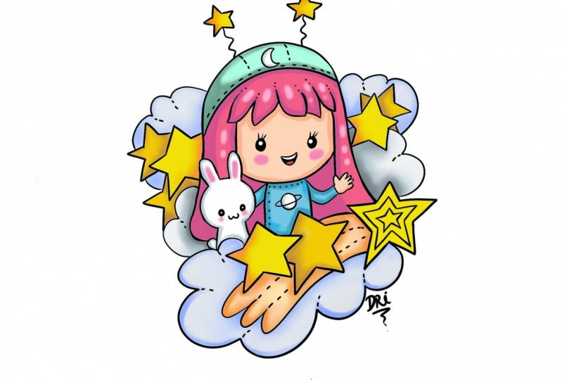 Cute star girl