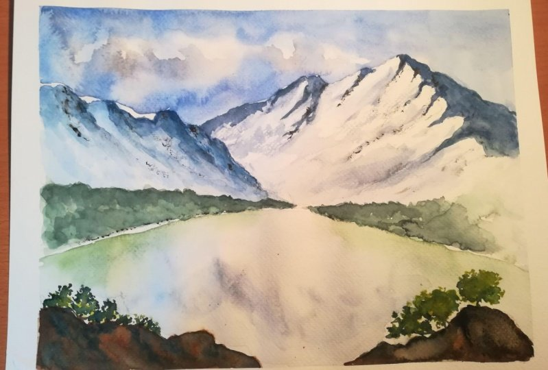 Mountains-first try :-)
