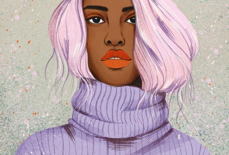 Portrait in Pastel