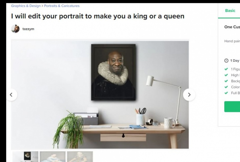 make you a king or a queen is my new gig