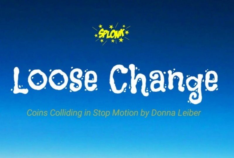Loose Change -- U.S. Coins colliding