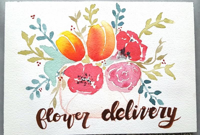 Flower Delivery Before Breakfast